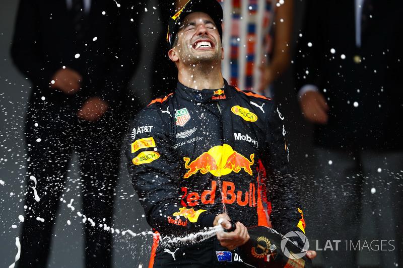 Гран При Монако: Даниэль Рикардо, Red Bull Racing