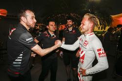 Kevin Magnussen, Haas F1 Team sonucu kutluyor