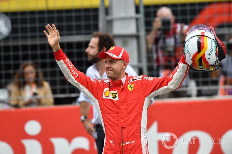 GP Jerman - Sebastian Vettel