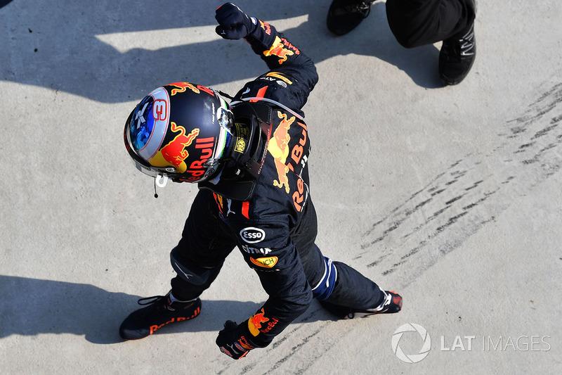 4 місце — Даніель Ріккардо, Red Bull — 215