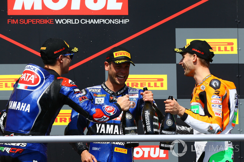 Podium : Federico Caricasulo, GRT Yamaha Official WorldSSP Team