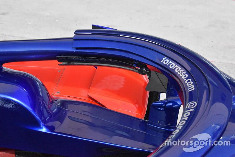 Scuderia Toro Rosso STR13 halo detail