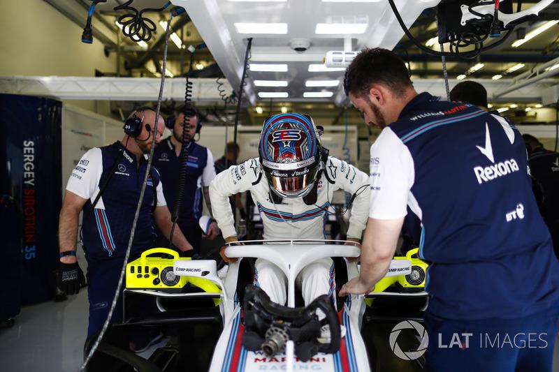18: Sergey Sirotkin, Williams FW41, 1'31.414