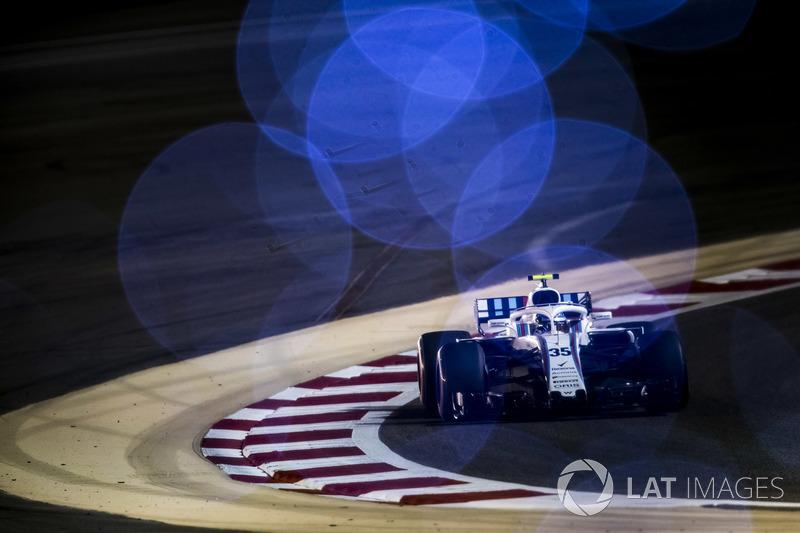 18. Сергій Сироткін, Williams FW41 Mercedes