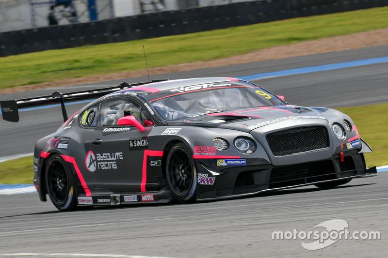 #9 Absolute Racing Bentley Continental GT3: Vutthikorn Inthraphuvasak, Christer Joens