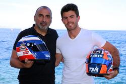 Norman Nato, Racing Engineering with Olivier Panis helmet