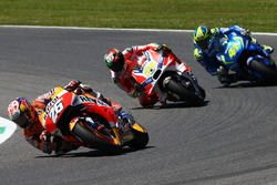 Дани Педроса, Repsol Honda Team, Андреа Янноне, Ducati Team и Алеш Эспаргаро, Team Suzuki MotoGP