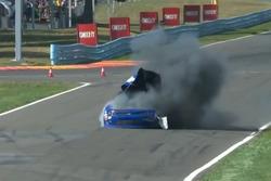 Explosion: Derrike Cope, Chevrolet (Screenshot)