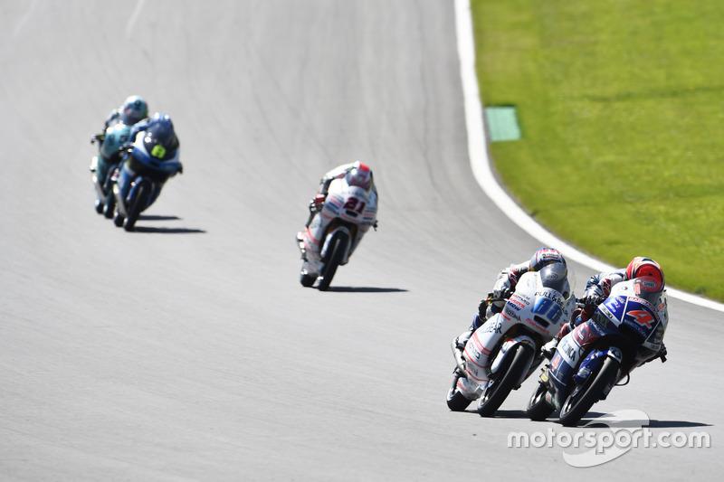 Fabio Di Giannantonio, Gresini Racing Moto3; HondaJorge Martin, Aspar Team Mahindra, Mahindra