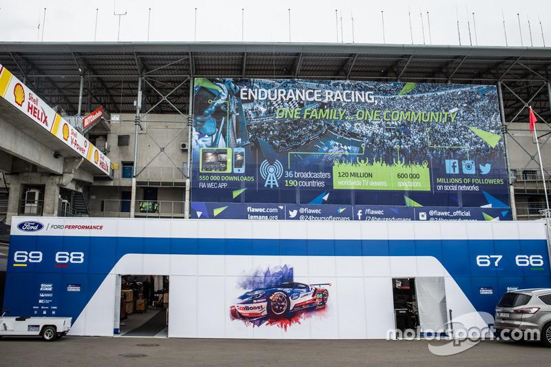 Зона Ford Chip Ganassi Racing