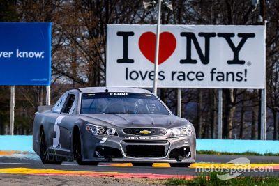 Watkins Glen NASCAR test