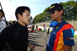 脇阪寿一と国本雄資(P.MU / CERUMO · INGING)
