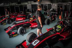 Black Arts Racing garage