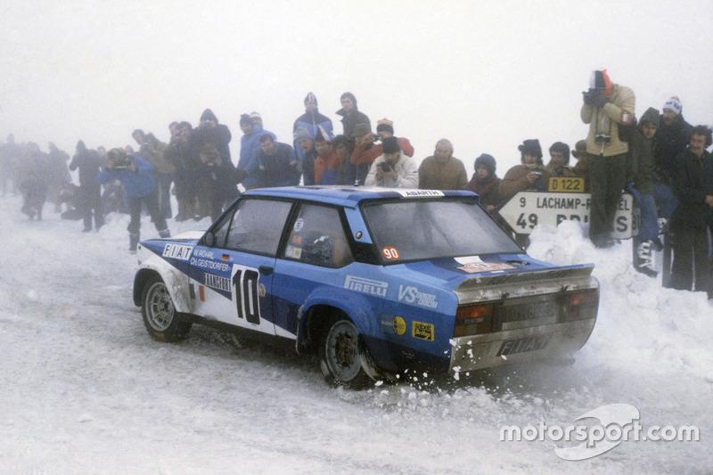 1980 - Première victoire de Röhrl : Fiat 131 Abarth