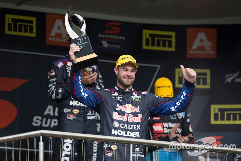 Podium: 2. Shane van Gisbergen, Triple Eight Race Engineering, Holden