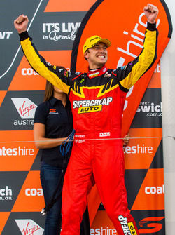 Podium: third place Chaz Mostert, Tickford Racing Ford