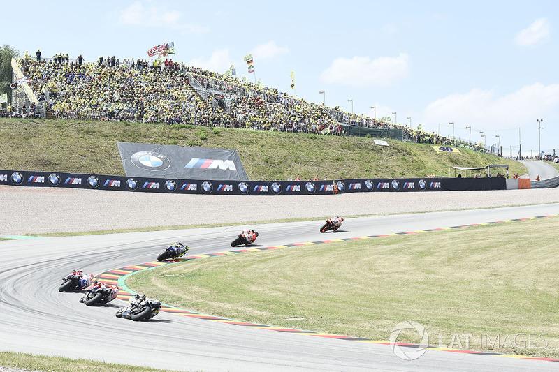 Під час гонки, лідер Марк Маркес, Repsol Honda Team