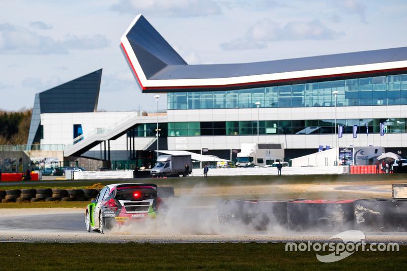 Gregoire Demoustier, Sebastien Loeb Racing Peugeot 208 Supercar