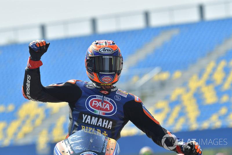Le troisième, Michael van der Mark, Pata Yamaha