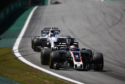 Ромен Грожан, Haas F1 Team VF-17, Ленс Строл, Williams FW40