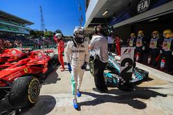 Valtteri Bottas, Mercedes AMG F1, parc ferme