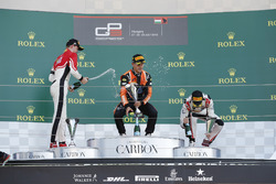 Callum Ilott, ART Grand Prix Dorian Boccolacci, MP Motorsport and Anthoine Hubert, ART Grand Prix