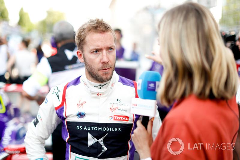 Sam Bird, DS Virgin Racing, talks to Nicki Shields