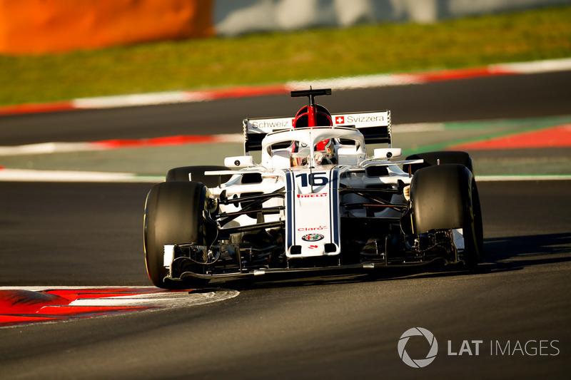 Charles Leclerc, Alfa Romeo Sauber C37