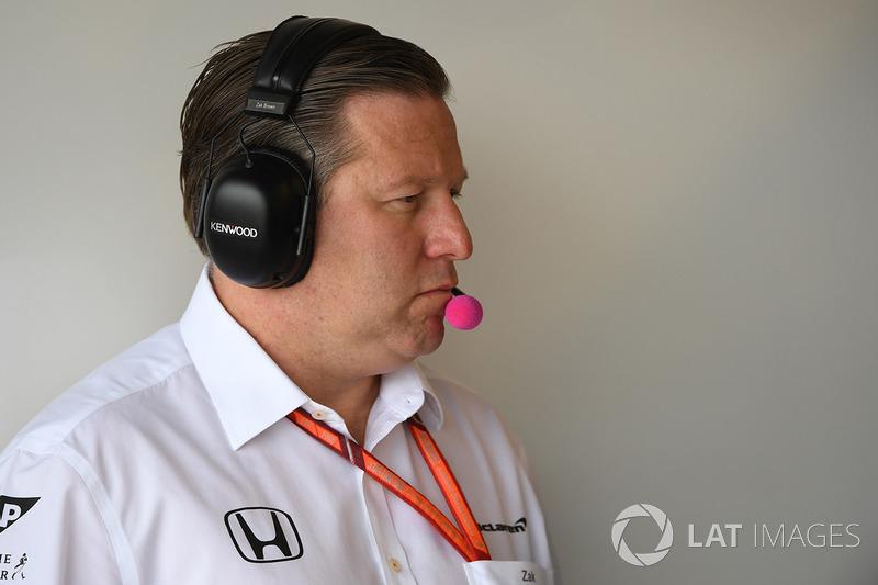 Zak Brown, McLarendirector ejecutivo