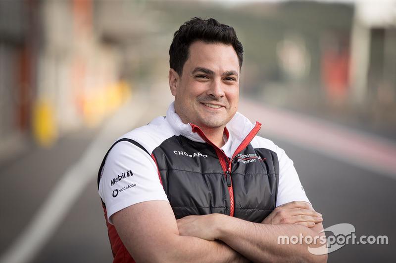 Stephen Mitas, ingénieur de course Porsche