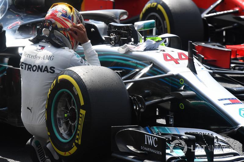 Con Mercedes, Hamilton ya sumó 44 victorias, de las 65 que posee en toda su carrera.