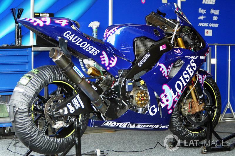 Gauloises Yamaha Tech3 - Alex Barros - GP do Pacífico 2003
