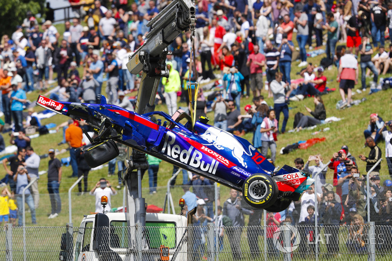 Ausfall: Pierre Gasly Toro Rosso STR13