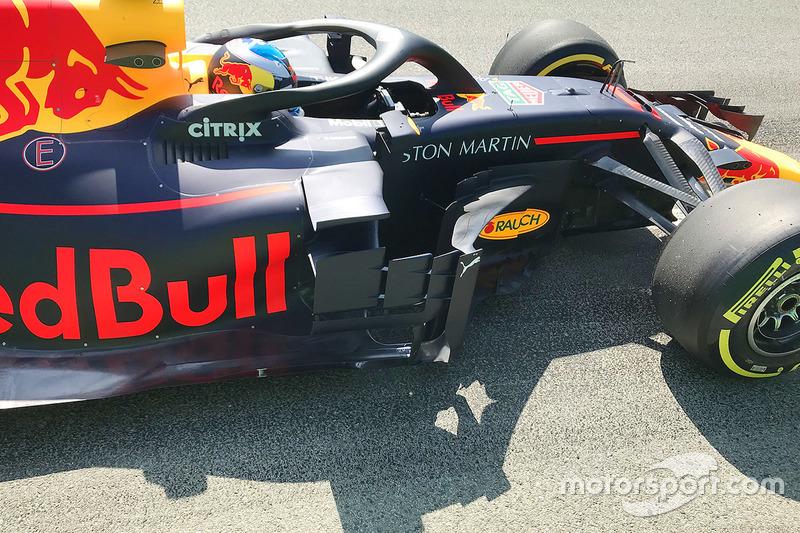 Daniel Ricciardo, Red Bull Racing RB14 detail