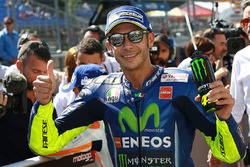 Segundo puesto Valentino Rossi, Yamaha Factory Racing