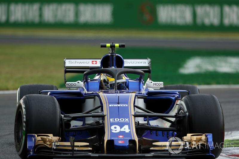 Pascal Wehrlein, Sauber C36 con el halo