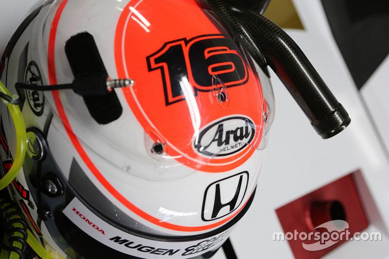 Helm Jenson Button, Team Mugen