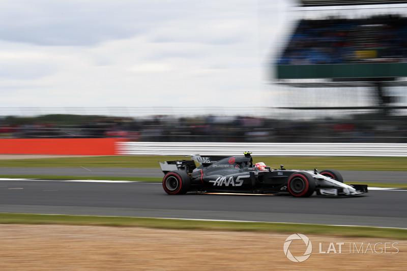 Кевін Магнуссен, Haas F1 Team VF-17, іскрить