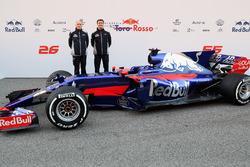 Franz Tost und James Key mit dem Toro Rosso STR12