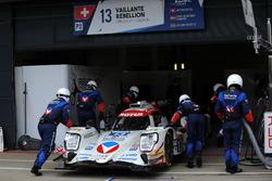 #13 Vaillante Rebellion Racing, Oreca 07 Gibson: Mathias Beche, David Heinemeier Hansson, Nelson Piq