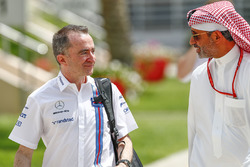 Paddy Lowe, Williams Formula 1