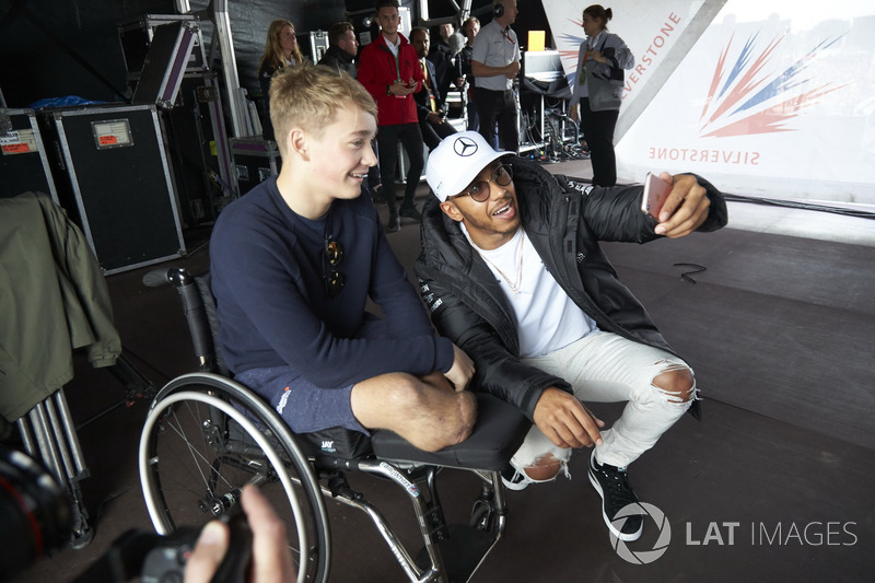 Lewis Hamilton, Mercedes AMG F1, Billy Monger