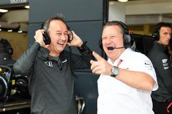 Jonathan Neale, McLaren Managing Director and Zak Brown, McLaren Executive Director