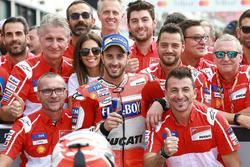 Il secondo qualificato Andrea Dovizioso, Ducati Team