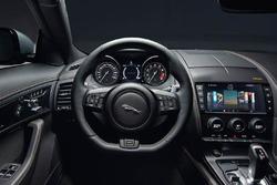 Jaguar F-Type 400 Sport Steering wheel