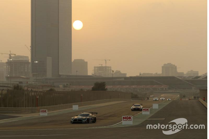#3 Black Falcon Mercedes AMG GT3: Abdulaziz Al Faisal, Hubert Haupt, Yelmer Buurman, Michal Broniszewski, Maro Engel