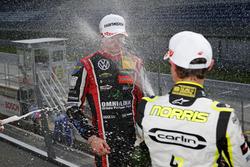 Podium: Lando Norris, Carlin Dallara F317 - Volkswagen, Joel Eriksson, Motopark Dallara F317 - Volks