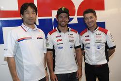 Tetsuhiro Kuwata, HRC-Boss, Cal Crutchlow, LCR Honda, Lucio Cecchinello, LCR Honda