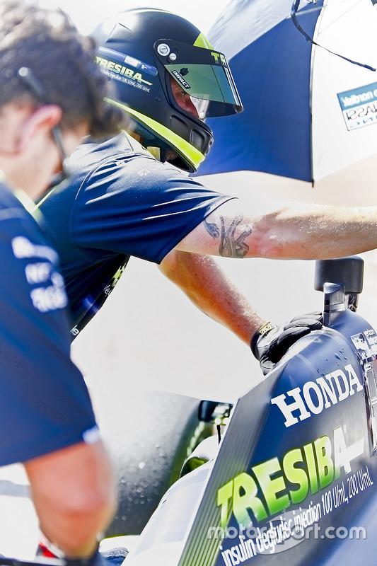 Mechaniker für Charlie Kimball, Chip Ganassi Racing, Honda