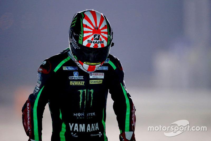 Johann Zarco, Monster Yamaha Tech 3, nach seinem Unfall